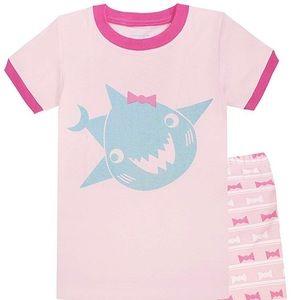 Big Girls Pajamas 100% Cotton Pjs Set Kids size 8